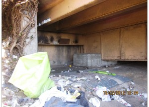 Homeless Camps Removed