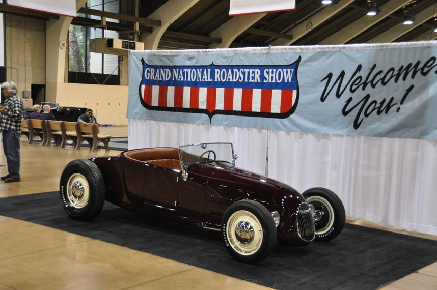 Roy Brizio wins America's Most Beautiful Roadster – Grand National Roadster Show