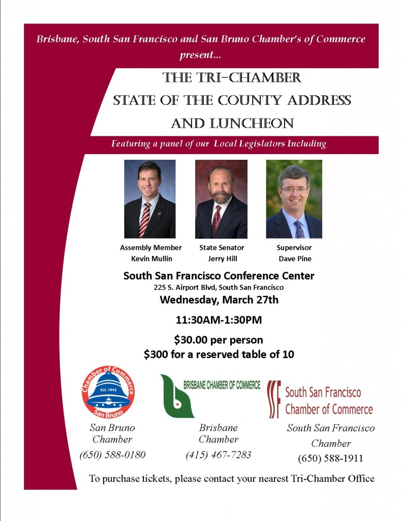 State of the County Address March 2nd Tickets Available Now