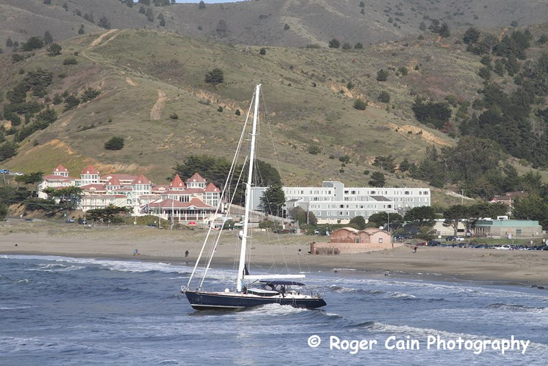 The Darling beached in Pacifica