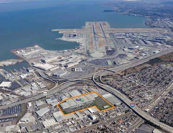 fedex will house about 500 employees in the sfo logistics center photo sf business
