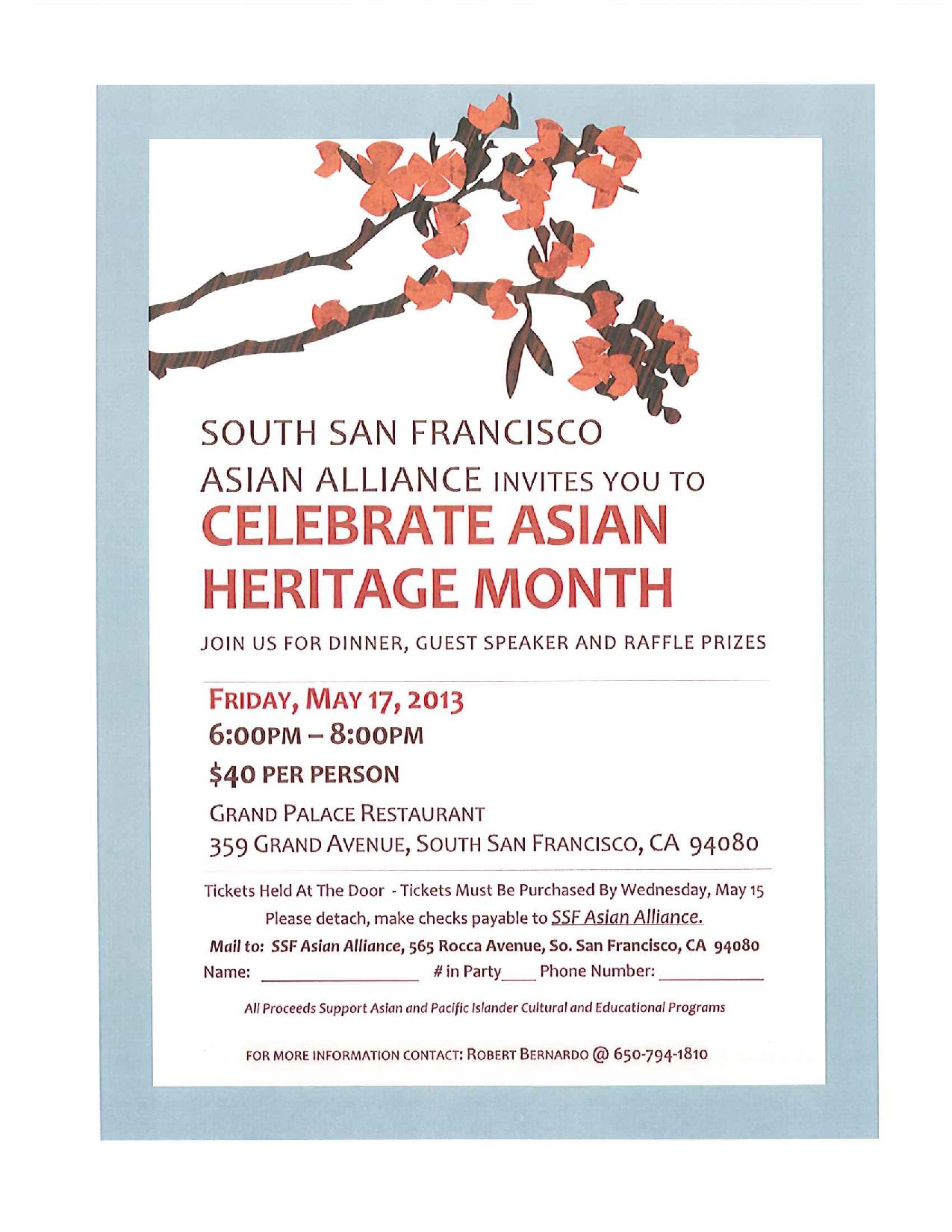 Celebrate Asian Hertiage Month