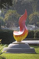 The Eternal Flame at Orange Memorial Park