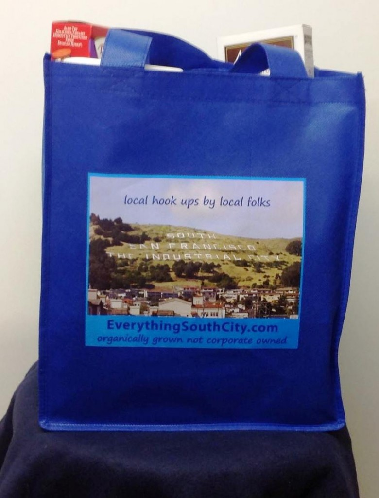 Free EVERYTHING SOUTH CITY Grocery Bags Available