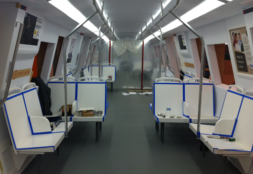 BART invites public to tour mockup of new train car interior July 23-26