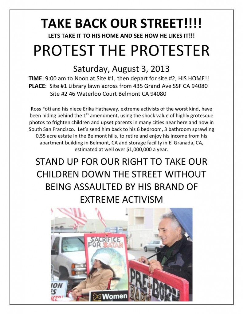 Protest the Protester
