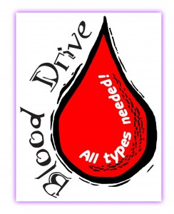 Blood Drive Monday Aug 26 MSB on Arroyo 9-2pm