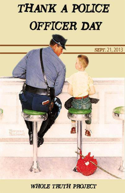 National Thank A Police Officer Day; South City Says THANK YOU!