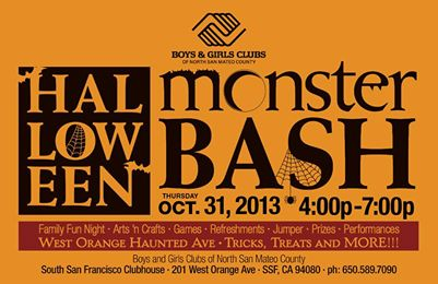 Halloween Event at Boys & Girls Club October 31st