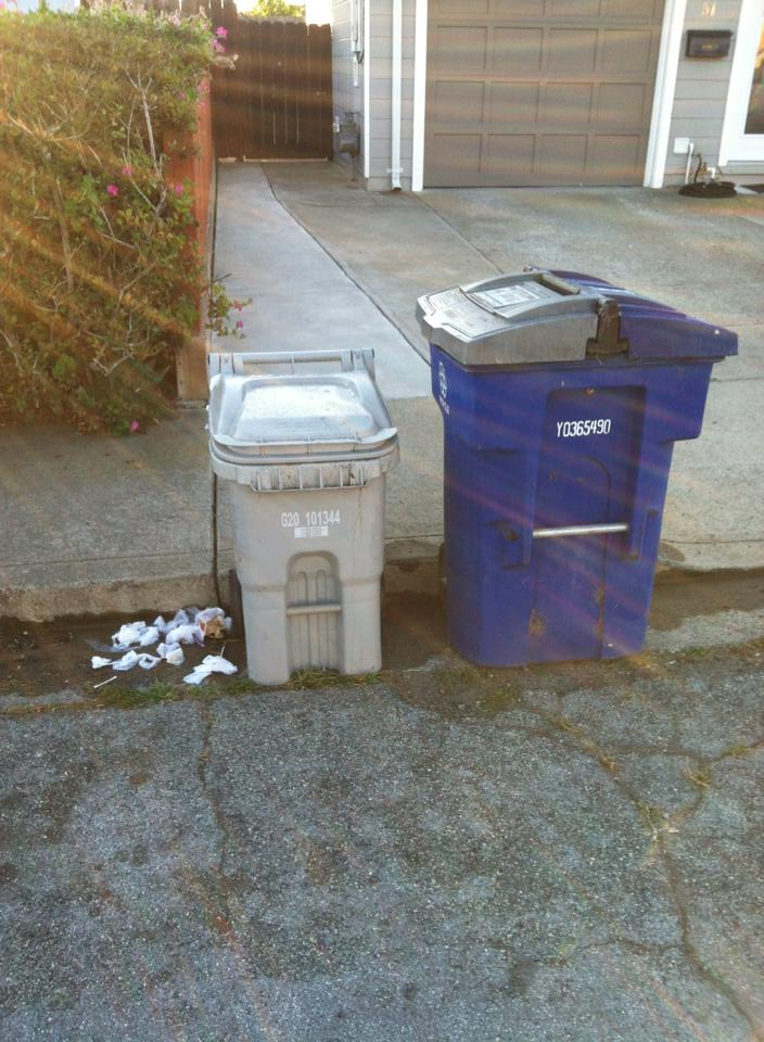 Trash Talk; When garbage comes between neighbors what do you do?