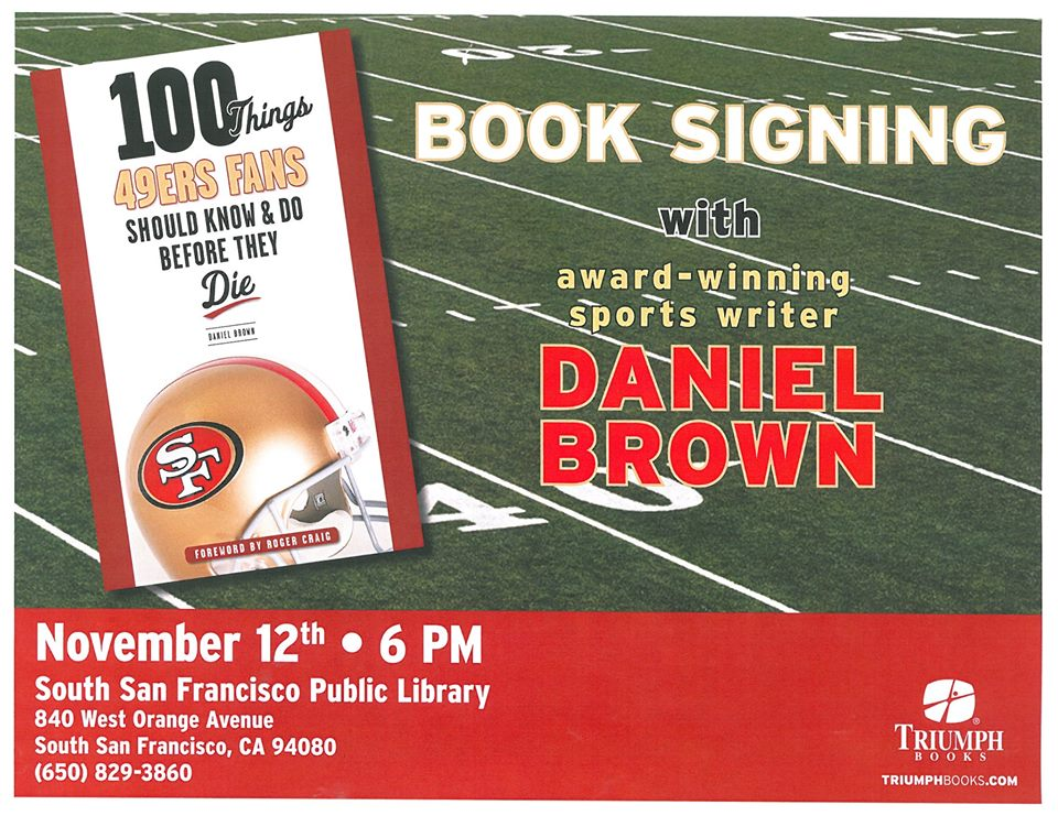 49er Talk & Book Signing at SSF Public Library