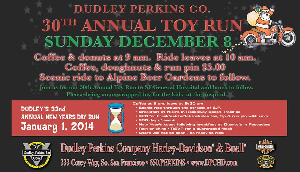 Dudley Perkins 30th Annual Toy Run | Everything South City