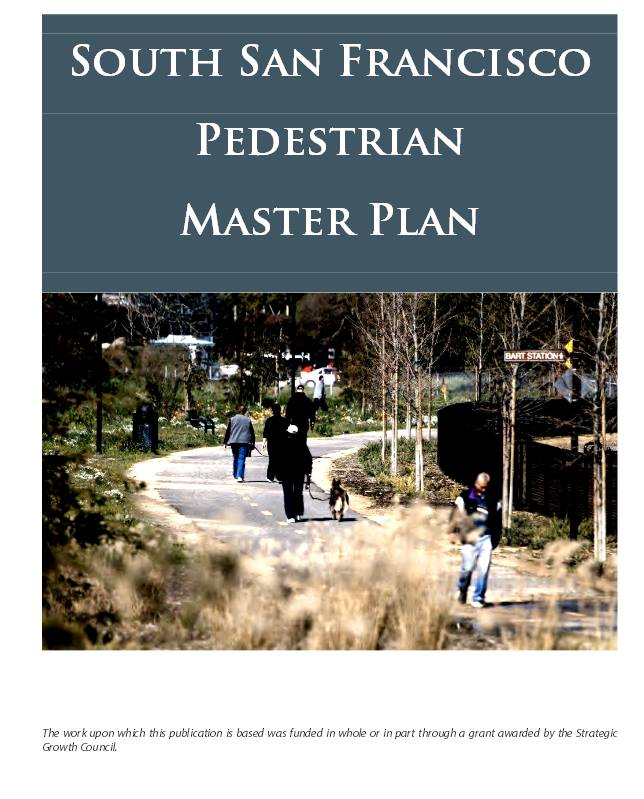 Pedestrian Master Plan & Climate Action Plan; Public Hearing January 16 2014