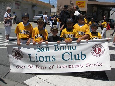 San Bruno LIONS POSY PARADE this SUNDAY June 1st