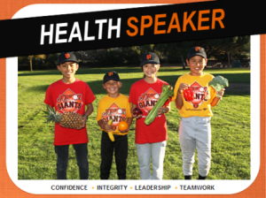 SSF's Junior Giants Program Kick Off With Healthy Tips From Kaiser