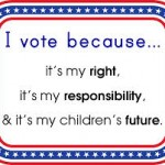 Voting: Your Right, Your Responsiblity