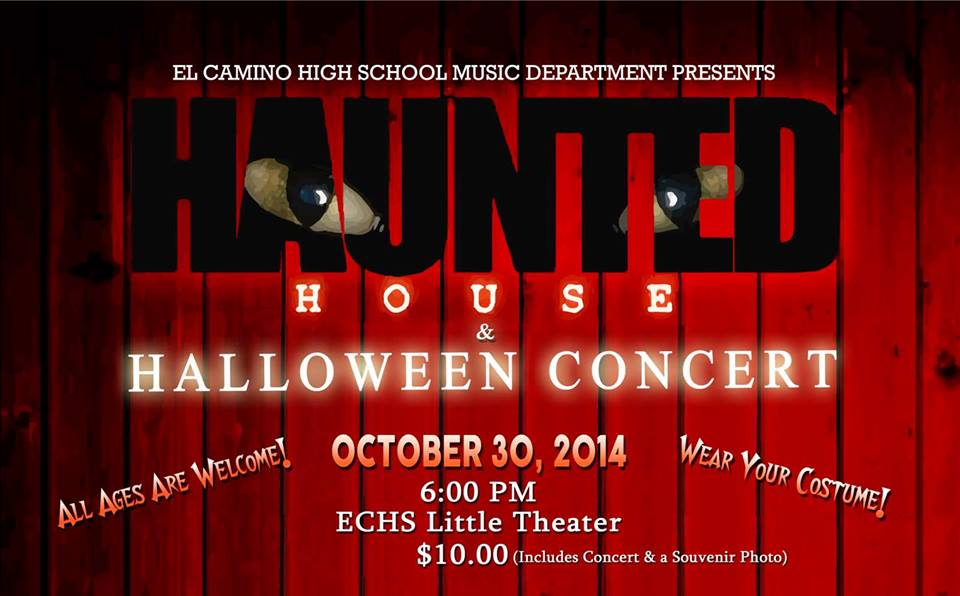 El Camino High Music Department Performs Halloween Concert & Haunted House
