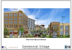 Update on Centennial Village & Safeway Grocery Store on ECR/Spruce