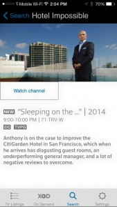 Travel Channel HOTEL IMPOSSIBLE to feature SSF CitiGarden Hotel tonight