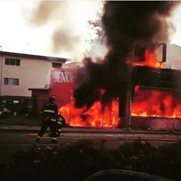 San Bruno's Seniore Pizza burns to the ground