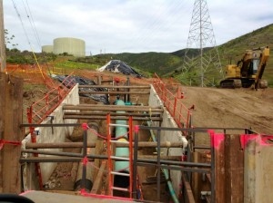 Update on PGE work on Hillside Blvd at Holly Avenue