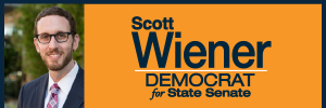 Everything South City to Co-Host Event for Scott Wiener State Senate Race