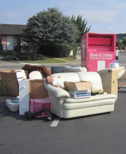 Donation Bins Invite Illegal Dumping – Permits Needed