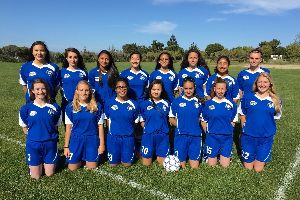 Support Our SSF/San Bruno 2016 U-16 Girls Soccer Team Travels to the National Games
