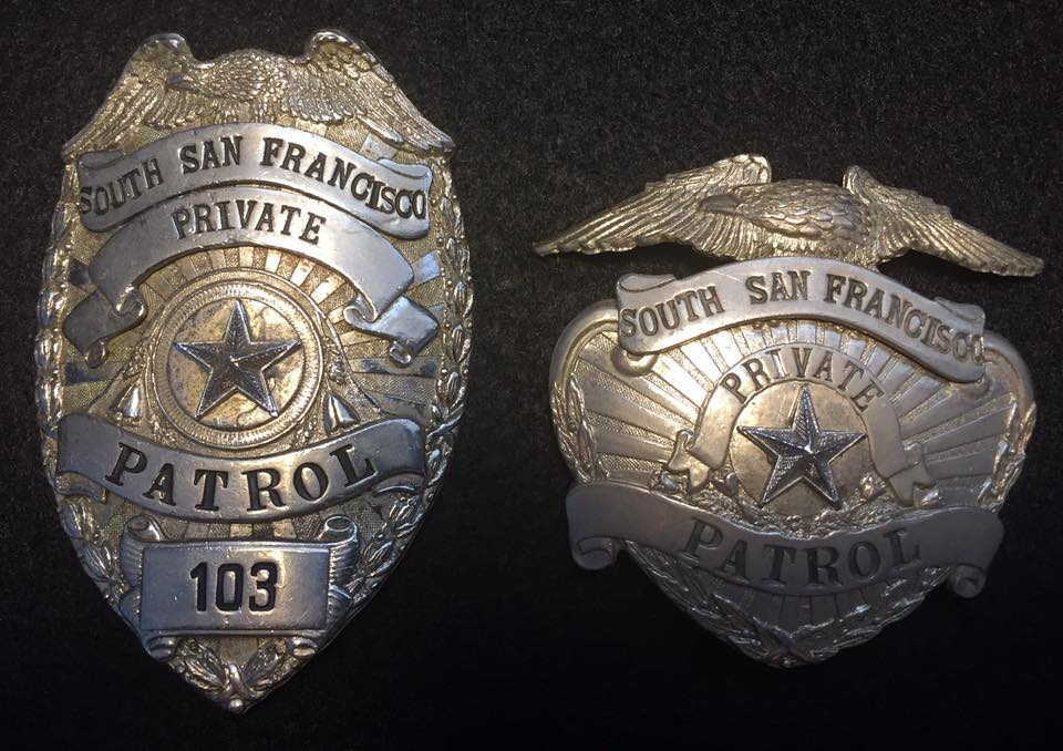 Seeking Photos of Security Guard Wearing Private Security Badges