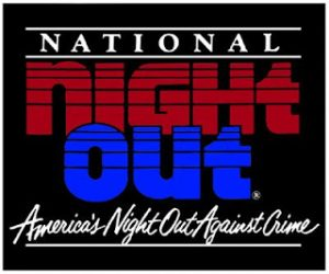 National Night Out is Tuesday August 7th – Come Meet Neighbors!
