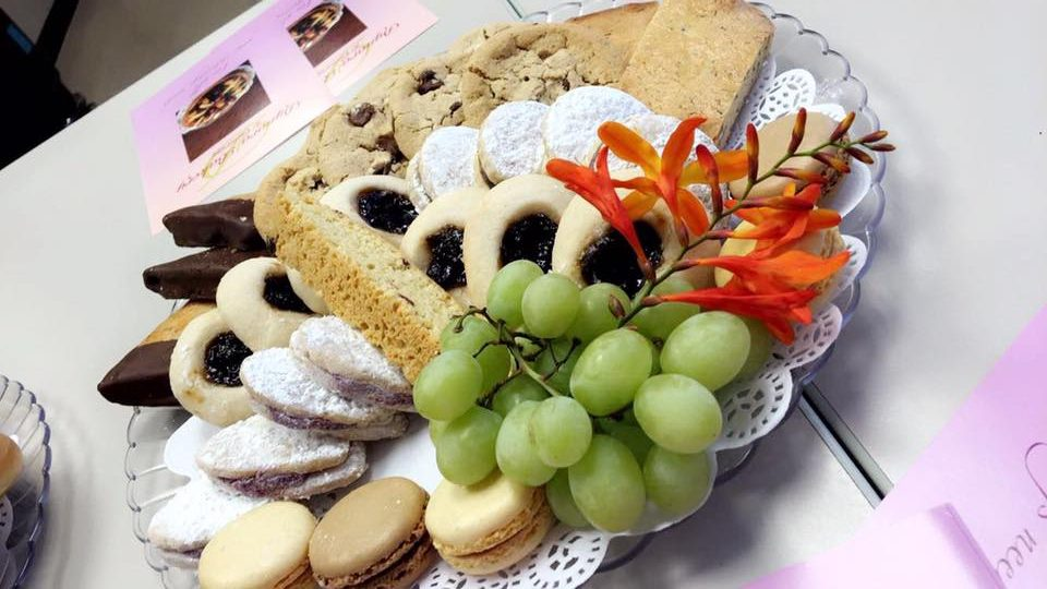 Delectable treats by Dynora Bakery & Catering are being donated as one of our prizes.