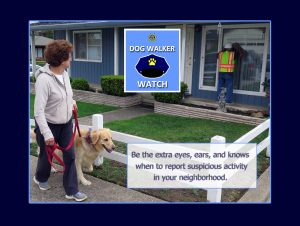 SSFPD Announce Dog Walker Watch Program Training Session To Start December 1st