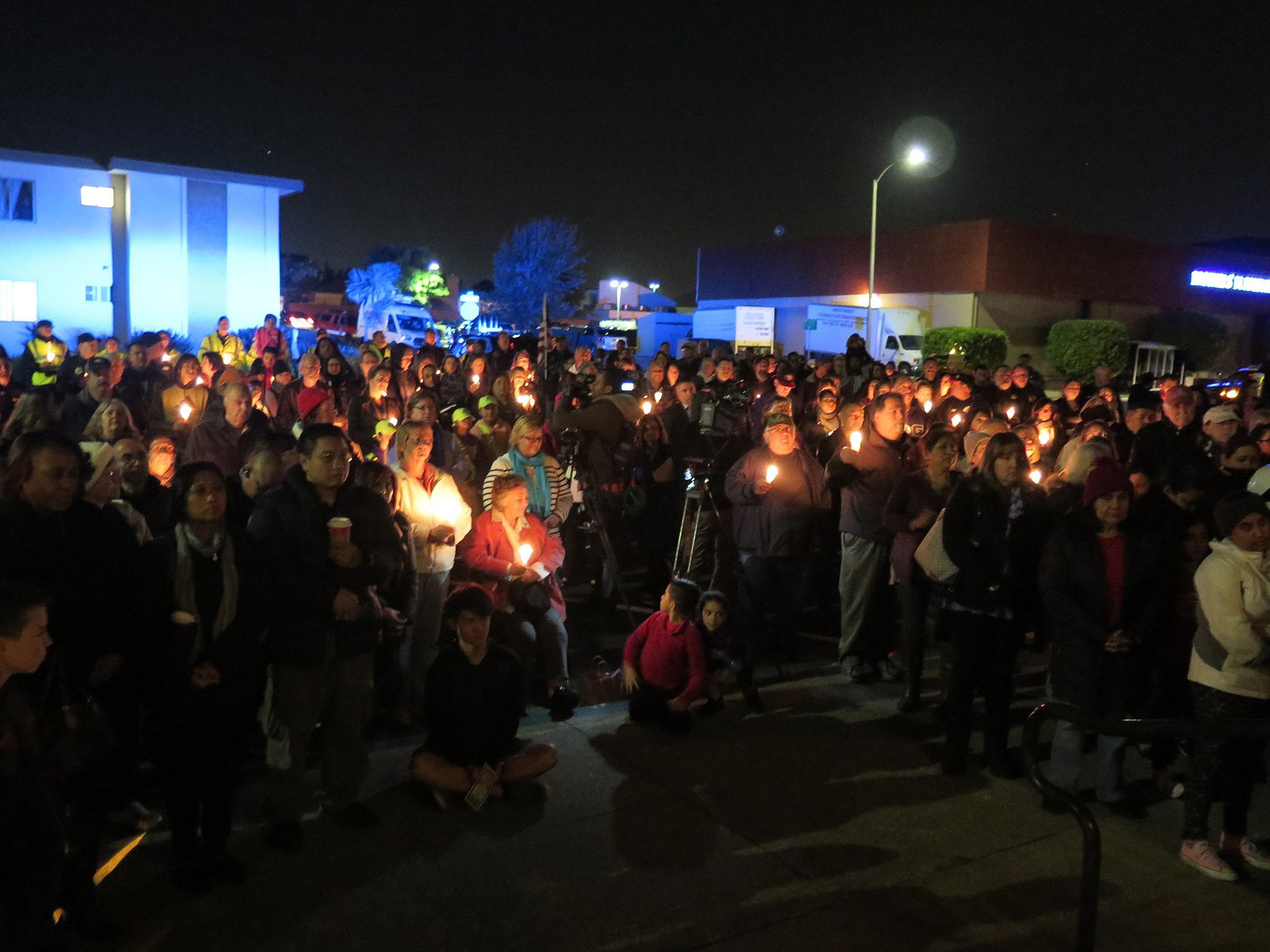 Small Town, Big Hearts Come Together in Support of SSFPD Officer Chon's Recovery