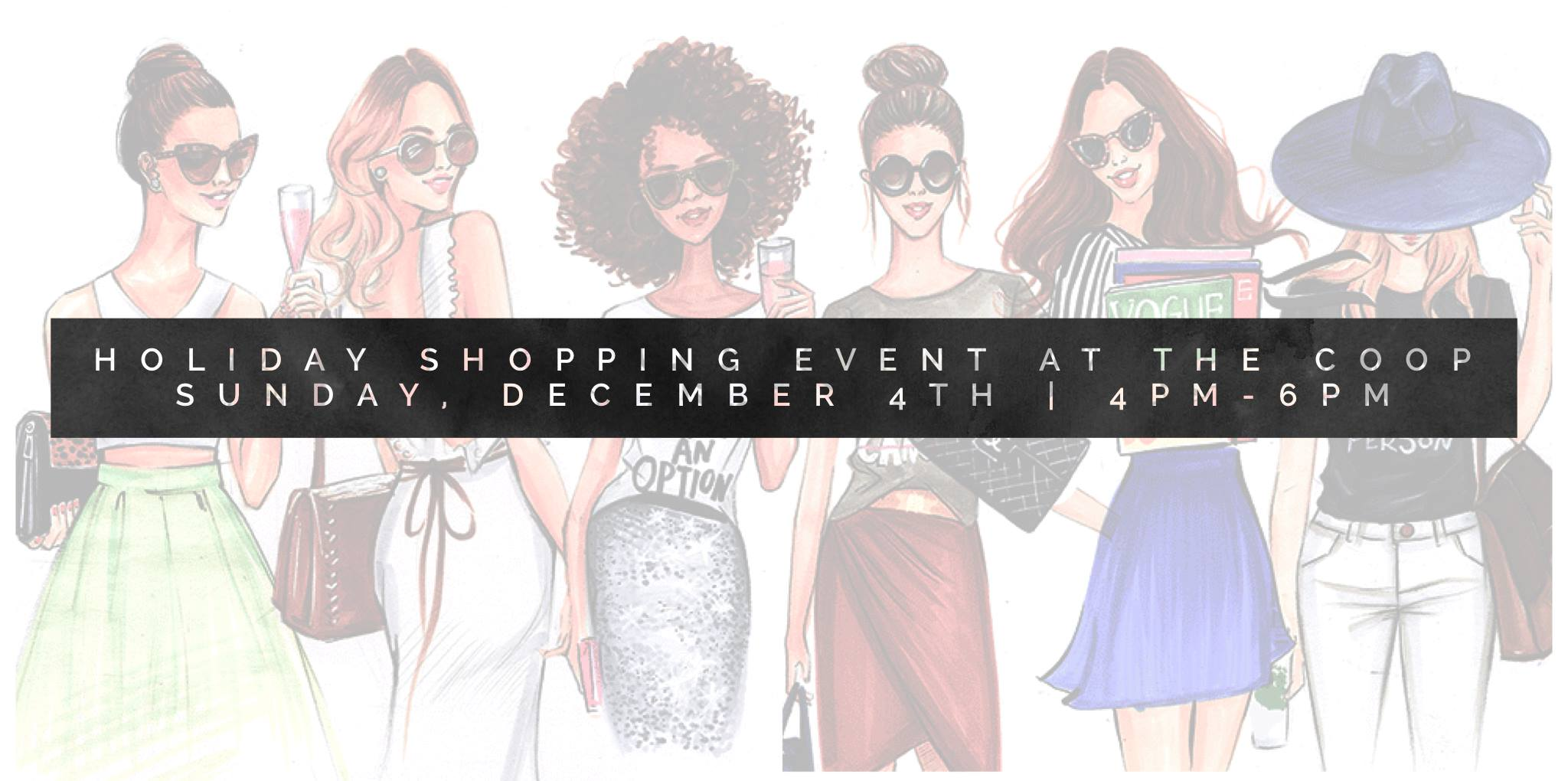 The COOP Hosts 'The Holiday Shopping Event' December 4th