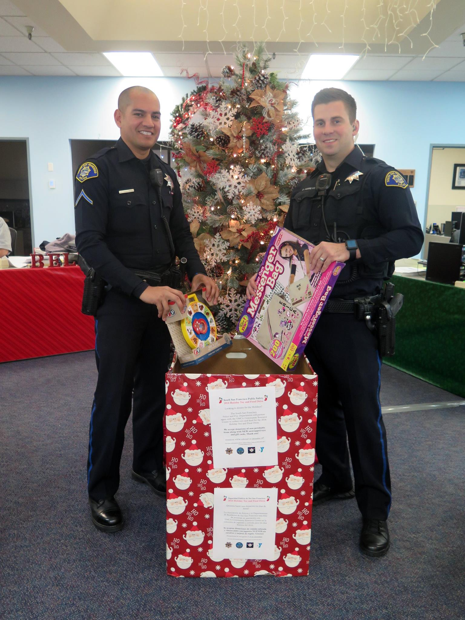 South San Francisco Public Safety  2016 Holiday Toy and Food Drive