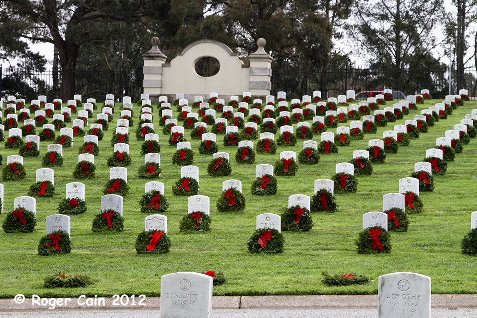 Remember December 7th >> Hundreds of Volunteers Needed AGAIN for Wreaths Across America at Golden Gate National Cemetery ...