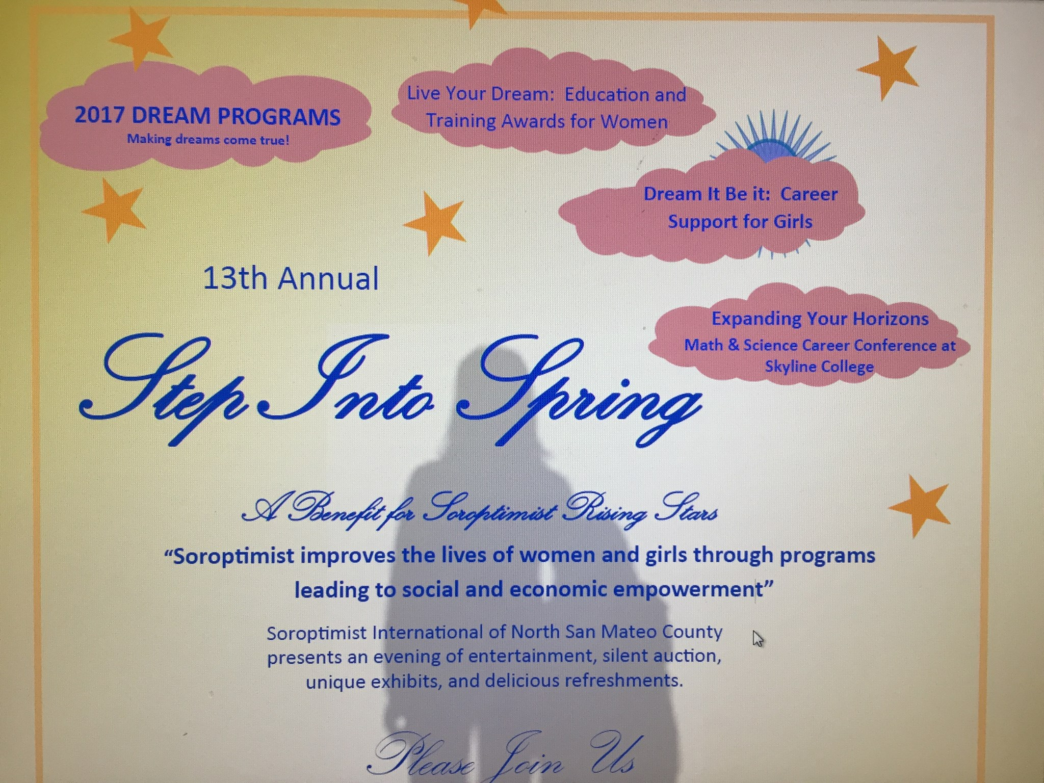 Soroptimist Annual Step Into Spring Slated for March 3rd at SSF MSB