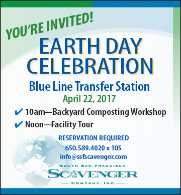 FREE Earth Day Celebrations April 22nd: Learn to Compost, Tour SSF Scavengers