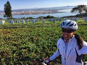 SSF Cecile Riborozo Sets Goal for 545 Mile AIDS/LifeCycle 2017