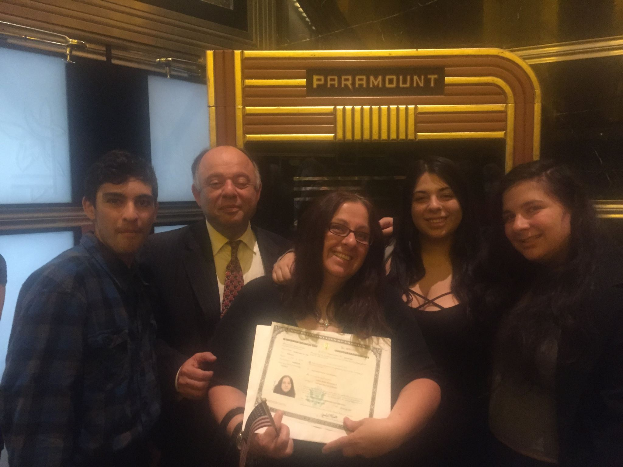 Congratulations to US Citizen NORA KEVRANIAN; Living the American Dream