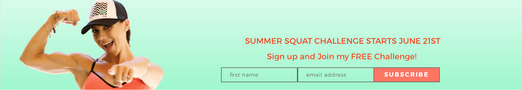HEALTH & FITNESS by GINA ALIOTTI: Summer Squat Challenge Starts June 21st, are you in?