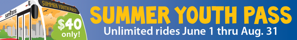 SamTrans Summer Youth Pass Available Now