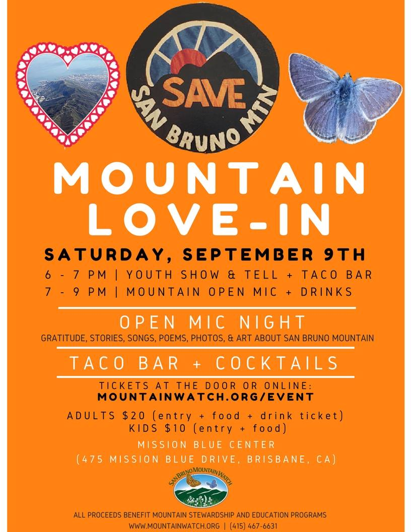 Mountain Love-In Set for September 9th at the Mission Blue Center Brisbane