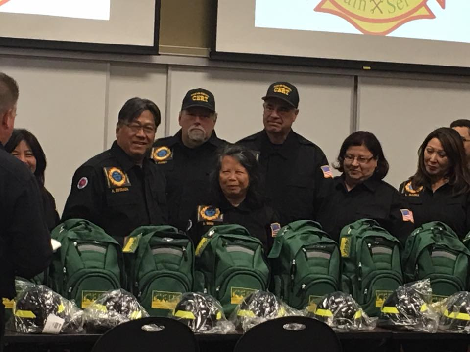 Community Emergency Response Team Swearing In August 2017