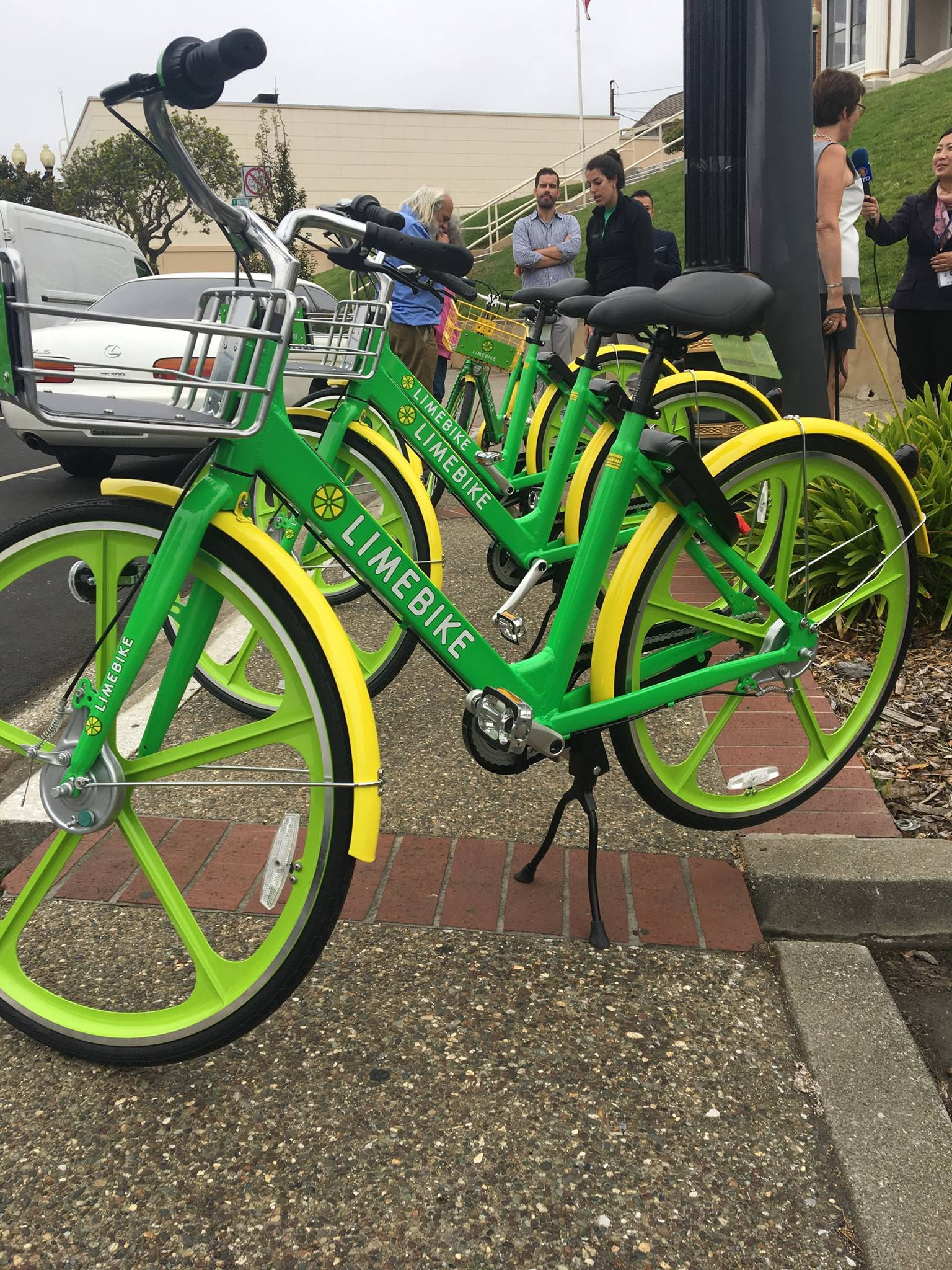 Limebike Launches In South San Francisco