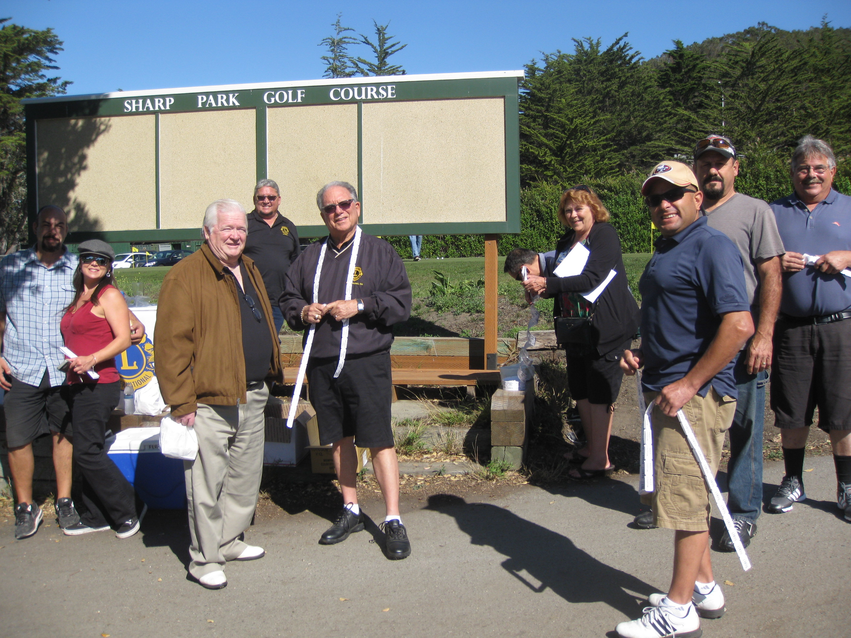 San Bruno Lions Club Enjoy Another Annual Golf Tournament Success