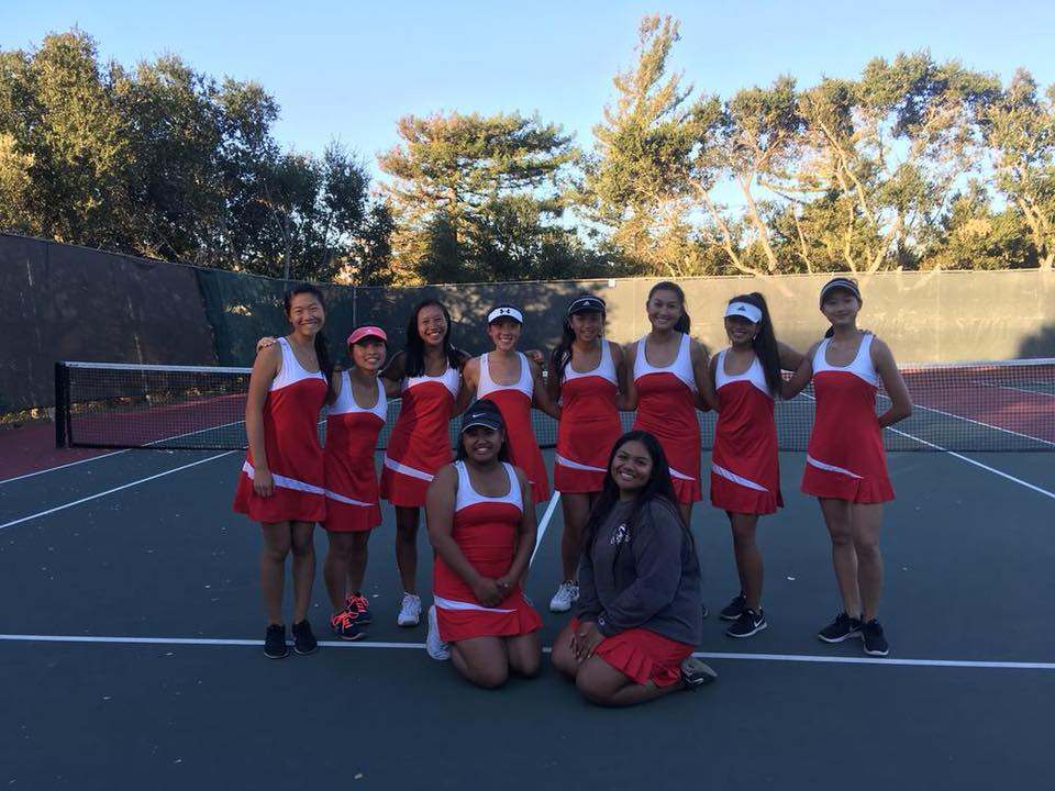 El Camino High School Girls Tennis and Courts Update
