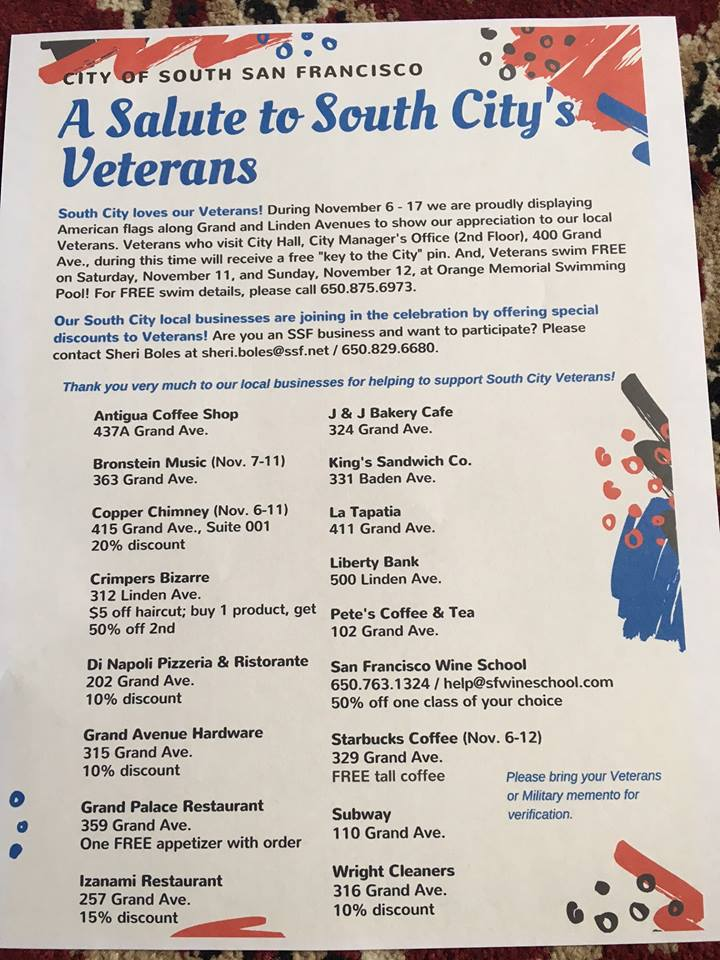 A Salute to South City Veterans