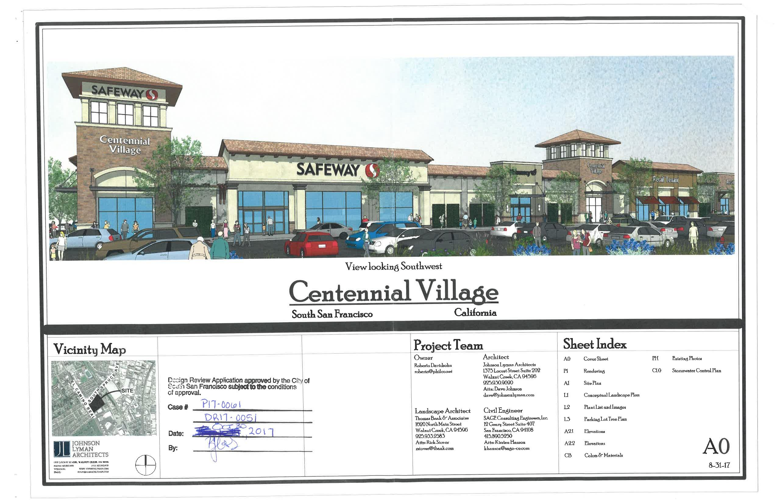 Centennial Village Progress Update (Safeway at ECR and Spruce)