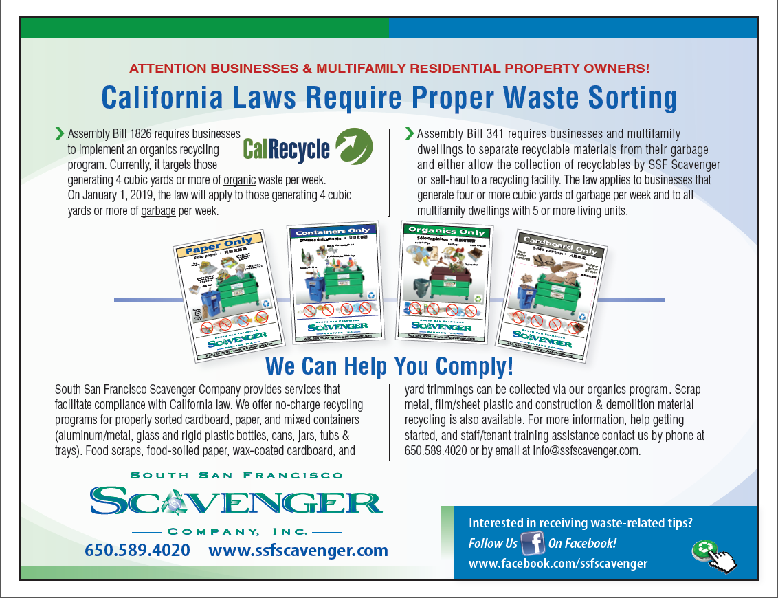 California Laws Require Proper Waste Sorting